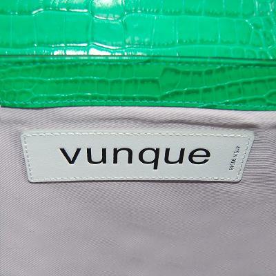 half round bag green